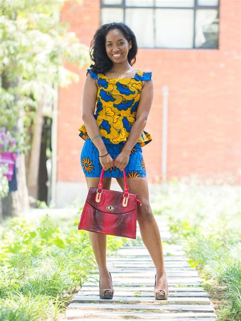 african short dress styles kitenge dress the click styles