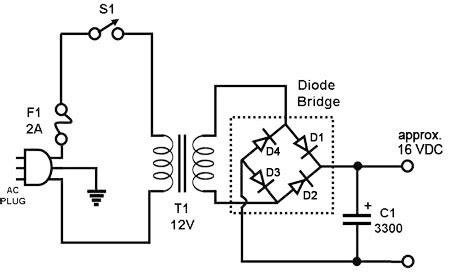 dioda bridge yang bagus rangkaian power supply sederhana 187 skemaku
