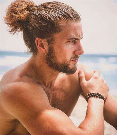 ponytail hairstyles for guys glorious ponytail hairstyles for men 29 hairstyles for