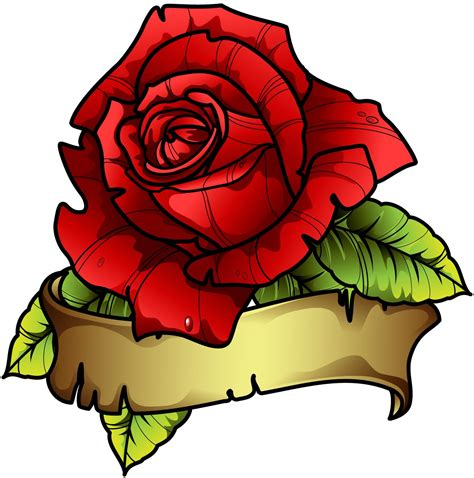 red roses tattoo design sbink picture