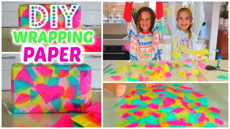 How To Make Birthday Gifts Out Of Paper - diy gift wrapping paper how to make handmade gift paper