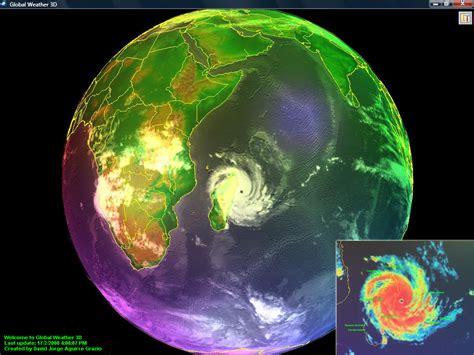 imagenes satelitales tiempo real y diferido cuidar el planeta clima y tiempo