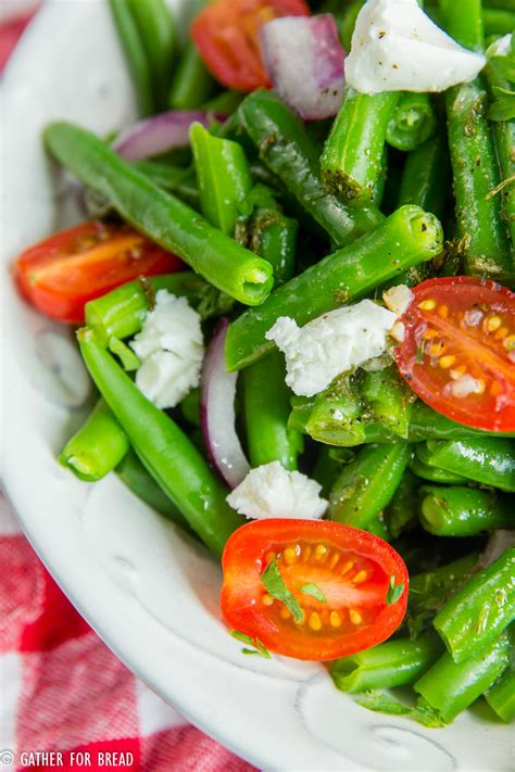 cold salads cold green bean salad gather for bread