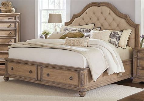 storage for bed linen ilana antique linen king panel storage bed from coaster