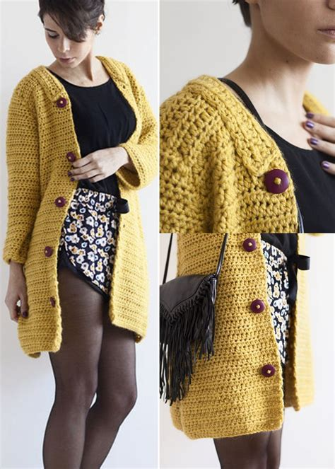 crochet pattern kimono jacket 2713 best knitted and crocheted stuff images on pinterest