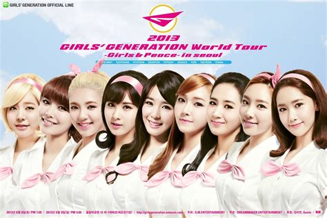 Generation The 1st Asia Tour Into The New World girls generation to release peace in seoul concert dvd