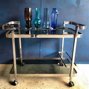 Perspex Vases Drinks Trolleys And Bar Carts A Modern Vintage Classic
