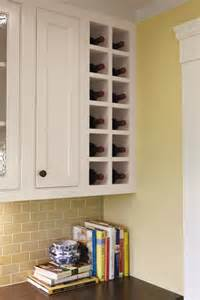 Kitchen Cabinet Wine Rack Ideas Built In Wine Rack Design For Use Of The 6 7 In Space To