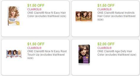 Clairol Hair Color Coupons Printable 2015