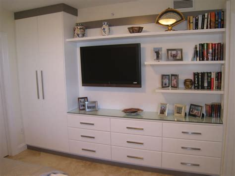 bedroom media center custom entertainment center in bedroom with wardrobe and