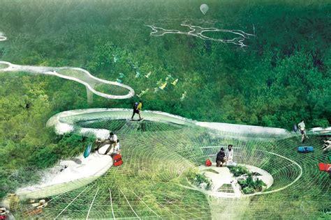Web Canopy Web Like Treetop Science Lab Floats High Above Brazil S
