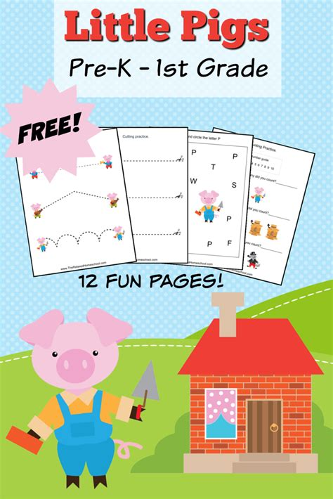 story themed activities free three little pigs theme pack the relaxed homeschool