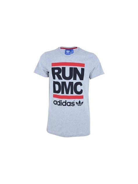 T Shirt Run Dmc Adidas adidas originals x run dmc logo t shirt in grey northern