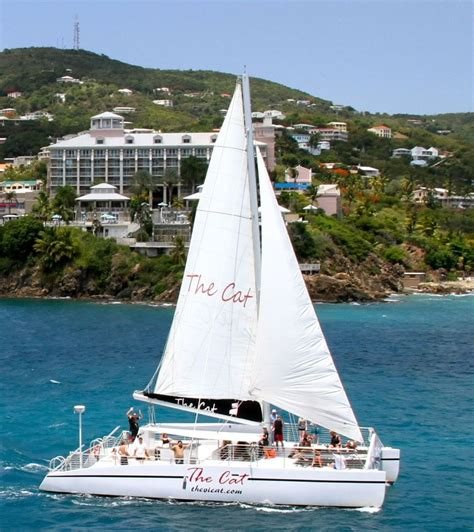 catamaran cruise st thomas the vi cat snorkel and catamaran sail in st thomas us