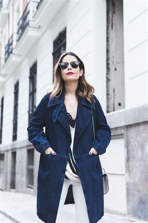 Blouse Denim Jeje denim jacket collage vintage
