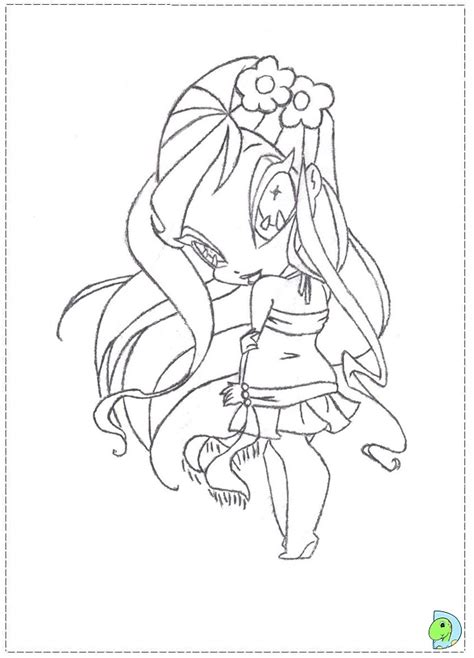 free pop pixies amore coloring pages