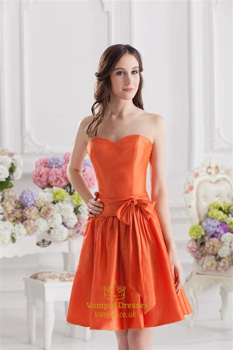 Orange Bridesmaid Dress by Orange Bridesmaid Dresses Orange Dresses For