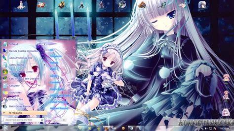 anime windows 7 theme windows 7 tinkle illustrations