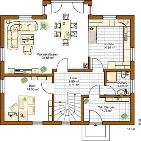 schiebetür garage k 252 che grundriss einfamilienhaus offene k 252 che grundriss