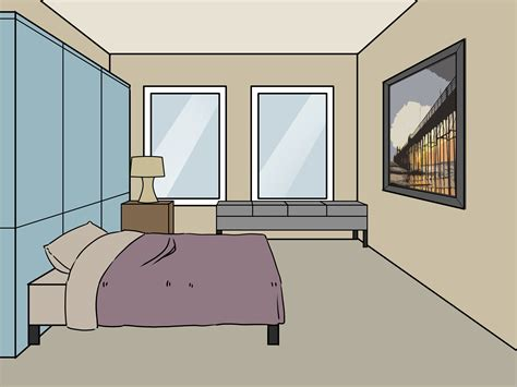 how to draw a bedroom how to decorate a boring teenage bedroom for boys 4 steps