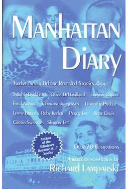 Book Review The Diary Of A Manhattan Call By Tracy Quan by Manhattan Diary Book 2006 By Richard Larski