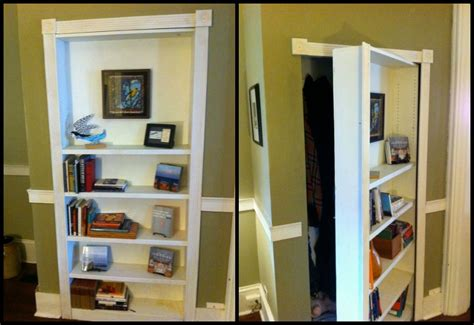 eye catching door bookshelf bookcase hides secret