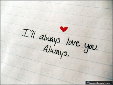 Always And Always Will i will you always quotes