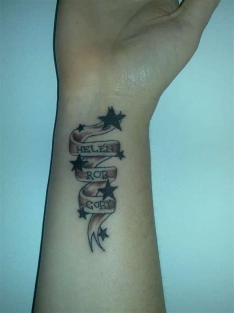 star and name tattoo designs 35 stunning name wrist designs