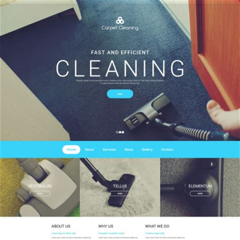 Cleaning Templates Cleaning Web Templates Carpet Cleaning Website Template