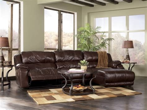 living room design with brown leather sofa furniture living room design ideas comes with rustic