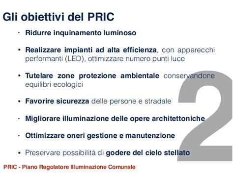 piano regolatore illuminazione comunale pric piano regolatore illuminazione comunale pric piano