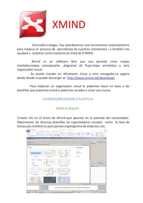 tutorial xmind pdf organizadores visuales rita pdf