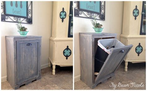 free standing trash can cabinet diy tilt out trash can plans plans diy free download window