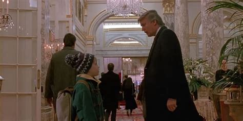 donald appeared briefly in home alone 2 lost in new