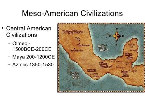 american civilizations map ap olmec powerpoint