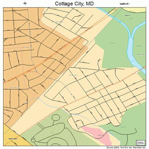 cottage city md cottage city maryland map 2420050