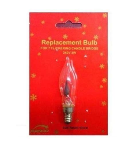 xmas arch bridge candle light replacement spare flickering