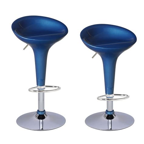 colorful bar stools joveco stylish colorful swivel adjustable bar stools set
