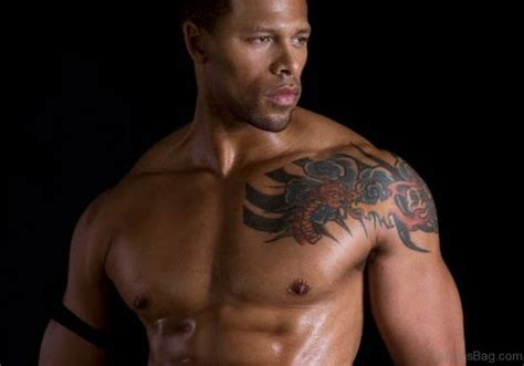 tattoos for black men 54 wonderful shoulder tattoos for