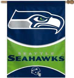 seahawks team colors seattle seahawks logo team color nfl vertical banner flag