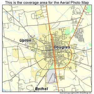aerial photography map of douglas ga