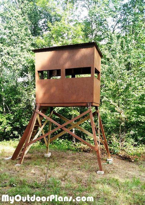 Deer Shooting House Plans Best 25 Deer Shooting Ideas On Deer