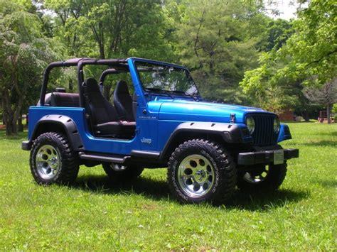 Blue Jeep Tj 1999 Jeep Wrangler Blue