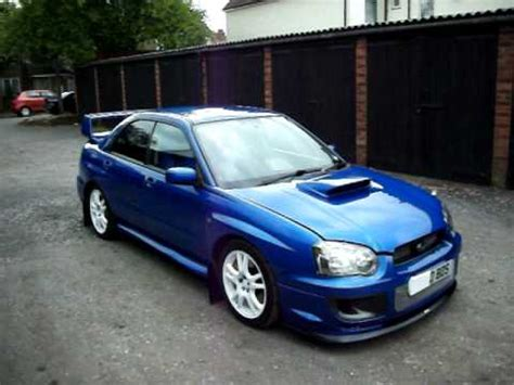 subaru impreza modified blue my slightly modified subaru impreza wrx sti walk around