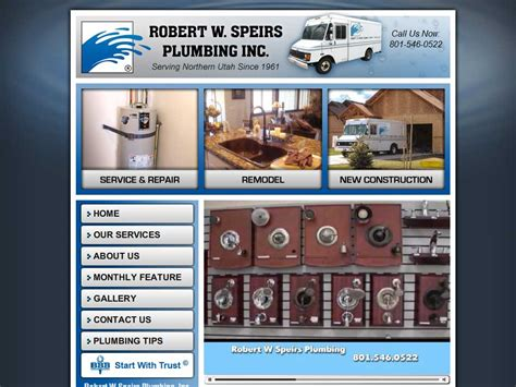 Robert W Speirs Plumbing by Robert W Speirs Plumbing Inc Usa Plumbing