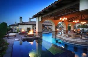 ultimate backyard ultimate backyard paradise mediterranean pool los
