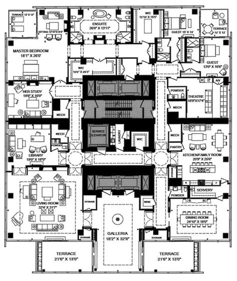 pent house floor plan penthouses for sale floor plans this four seasons penthouse is canada s most expensive