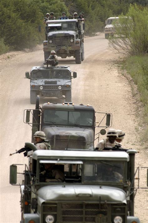 military  convoy training