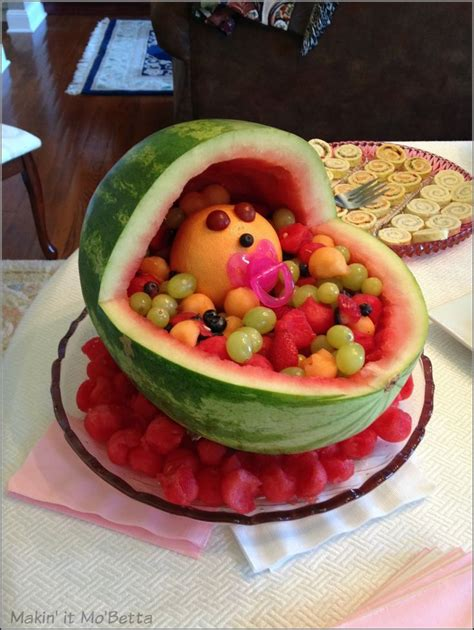 Baby Shower Melon Carriage by 17 Best Ideas About Watermelon Baby Carriage On