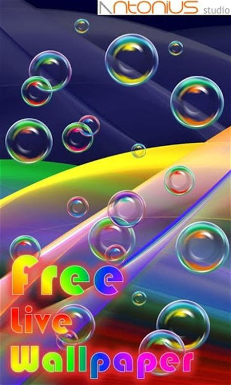 live bubble themes download bubble live wallpaper free for android by
